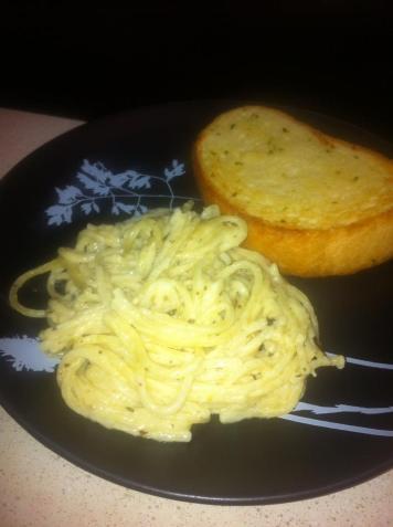 alfredo spaghetii